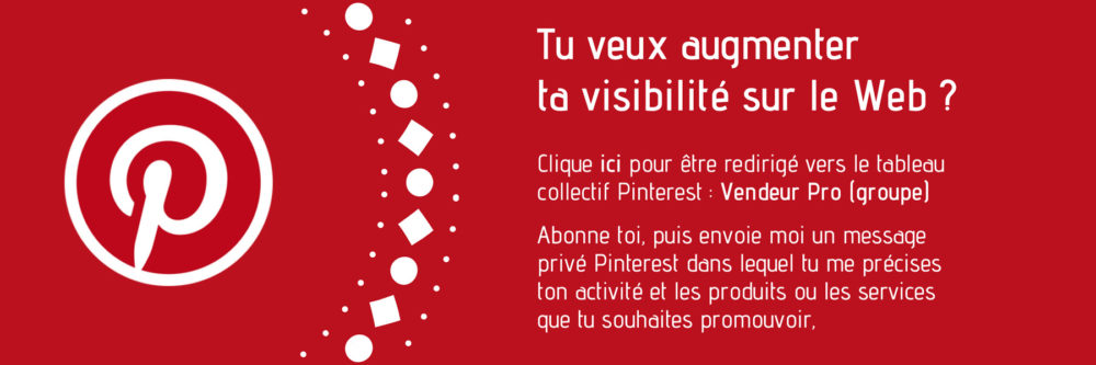 Top add pinterest tableau collectif Vendeur Pro groupe