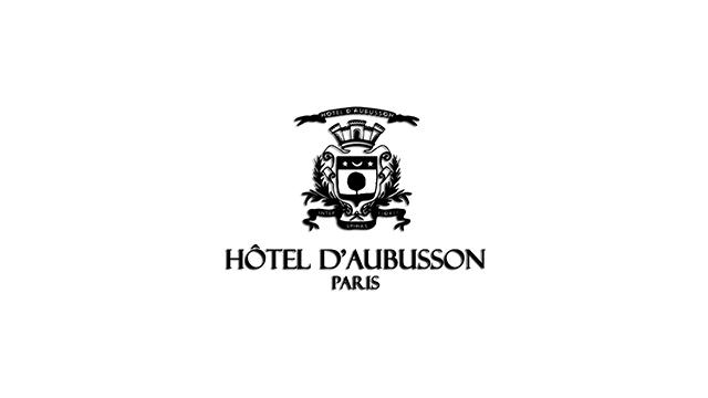 Hotel D Aubusson logo Les 10 meilleurs hôtels 5 étoiles de Paris Blog Vendeur Pro