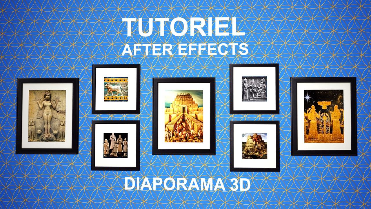 Diaporama 3D AE Vendeur Pro Miniature blog
