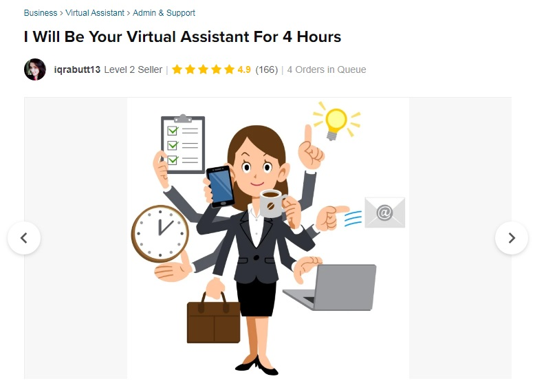 virtual assistant Vendeur Pro